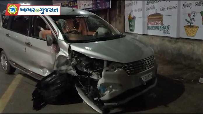 DKV-Circle-Car-Tyre-Blast-Khabar-Gujarat