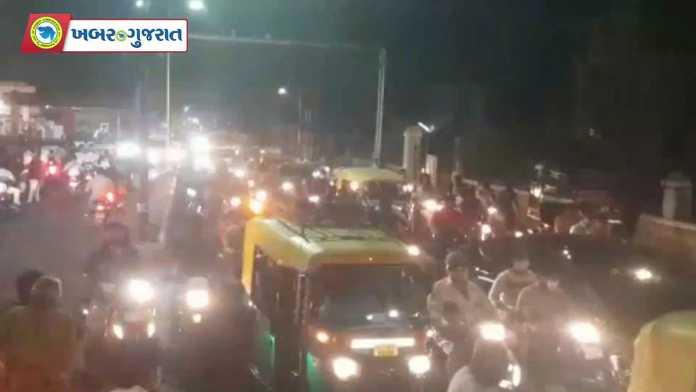 night curfew first day khabar gujarat